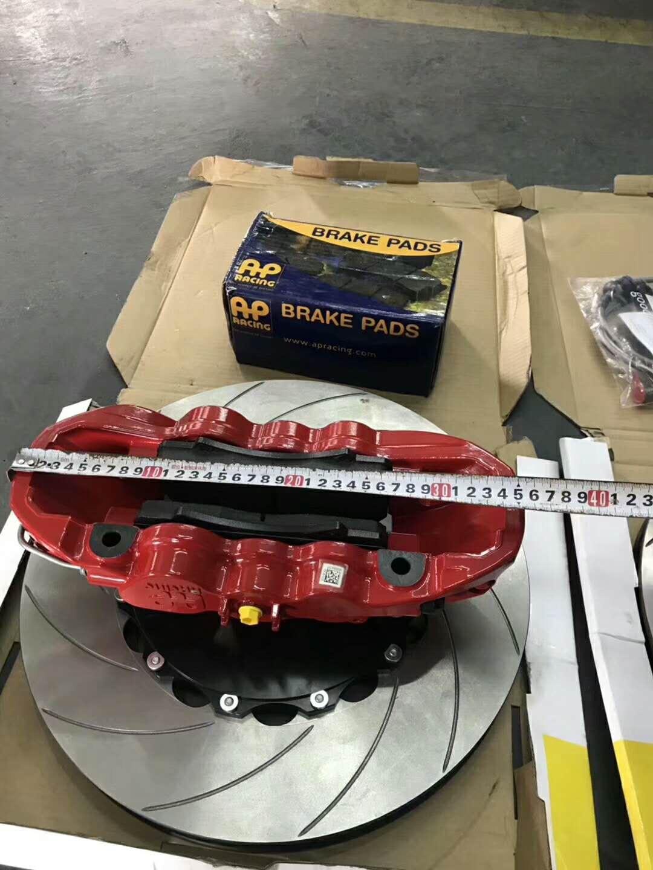 玛莎拉蒂Levante莱万特刹车改装升级英国??ap8520大六配Ap410MM划线盘!