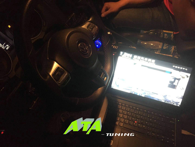 高尔夫GTI刷ECU,升级英国ATA-Tuning程序