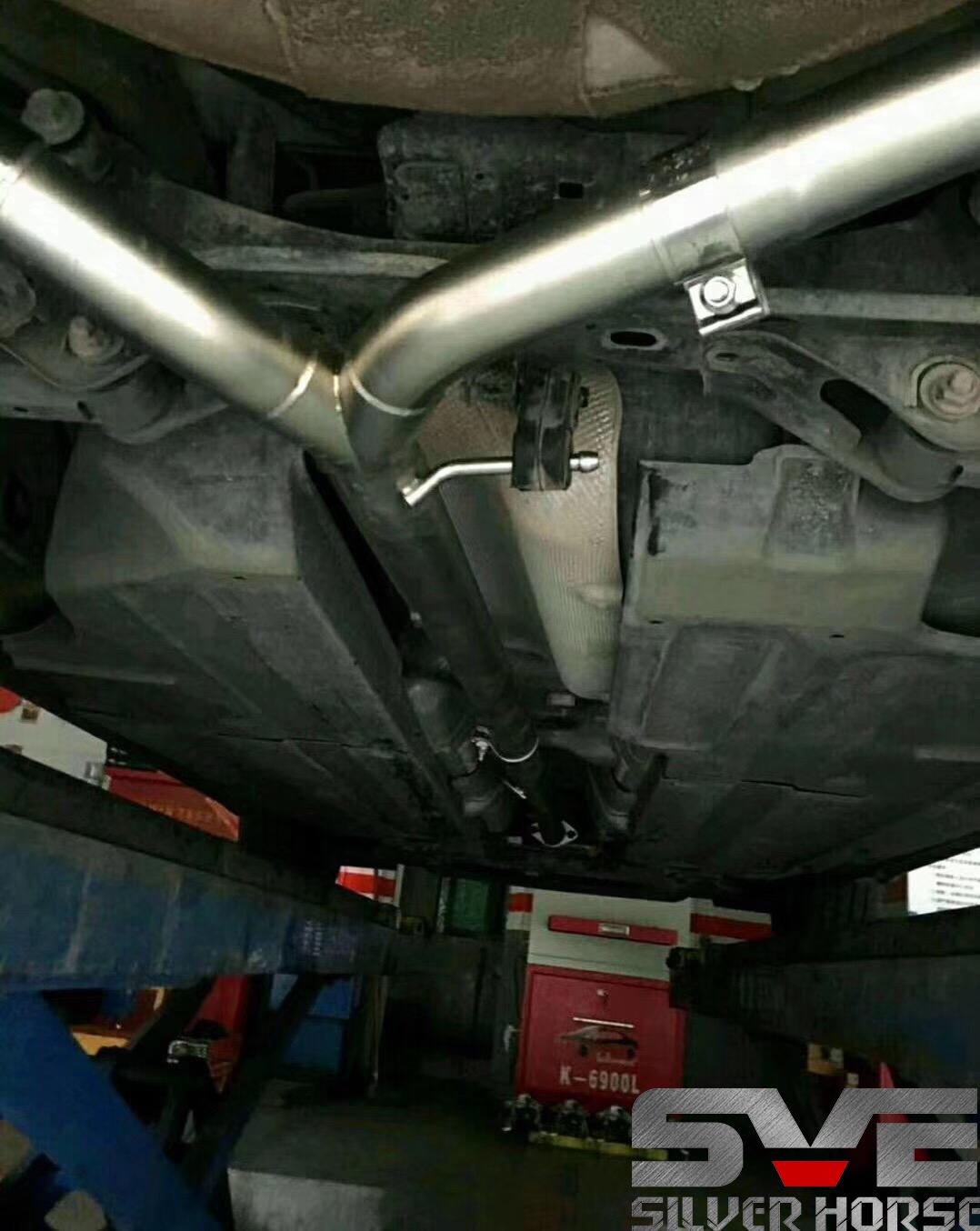 现代名图改装SVE中尾段阀门四出排气