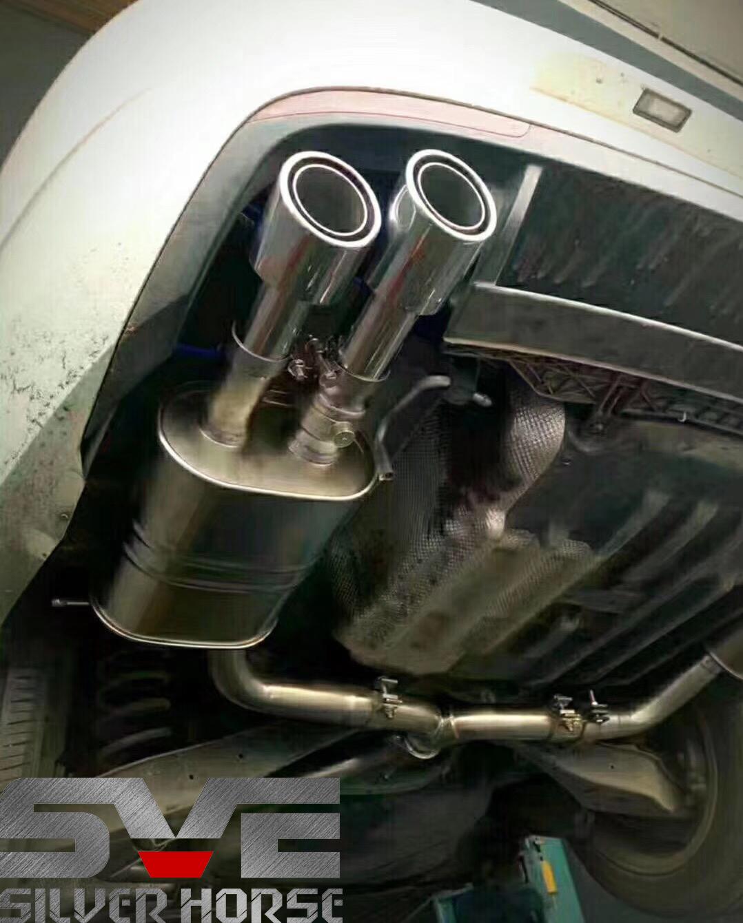 大众CC改装SVE中尾段阀门四出排气