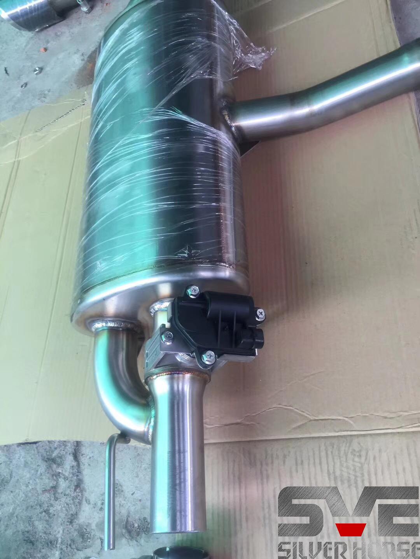 宝马X1升级SVE中尾段电子阀门双出排气