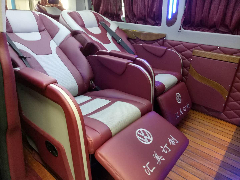 大众凯路威内饰改装,航空座椅