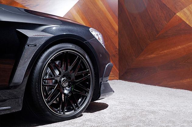 奔驰S级AMG改装巴博斯碳纤维件V:Joca888