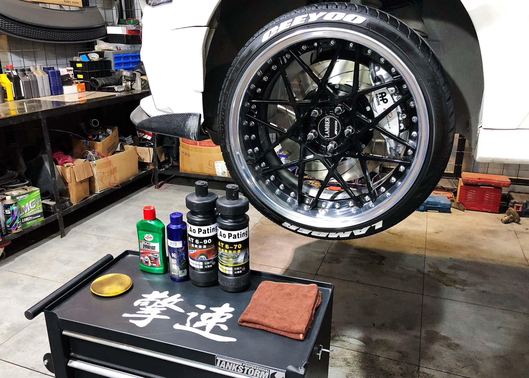 轮胎贴字(轮胎纹身)增加轮胎立体感,提升轮毂视觉冲击力!