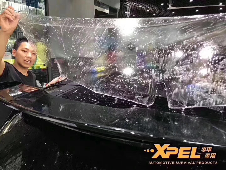 石家庄奔驰A45 AMG贴XPEL隐形车衣