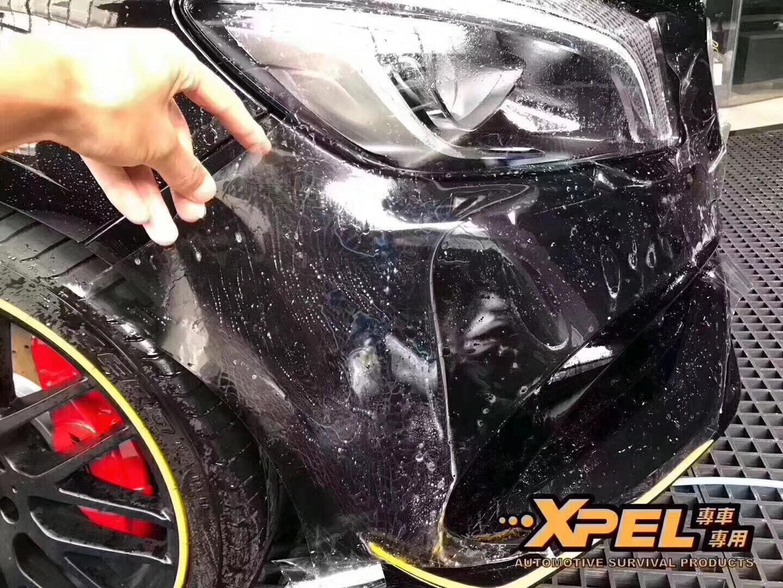石家庄奔驰A45 AMG贴美国XPEL隐形车衣