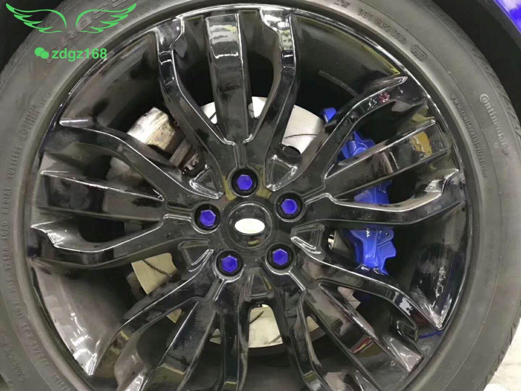 路虎揽胜运动版刹车改装升级前轮英国??ap8520大六搭配380MM碟盘