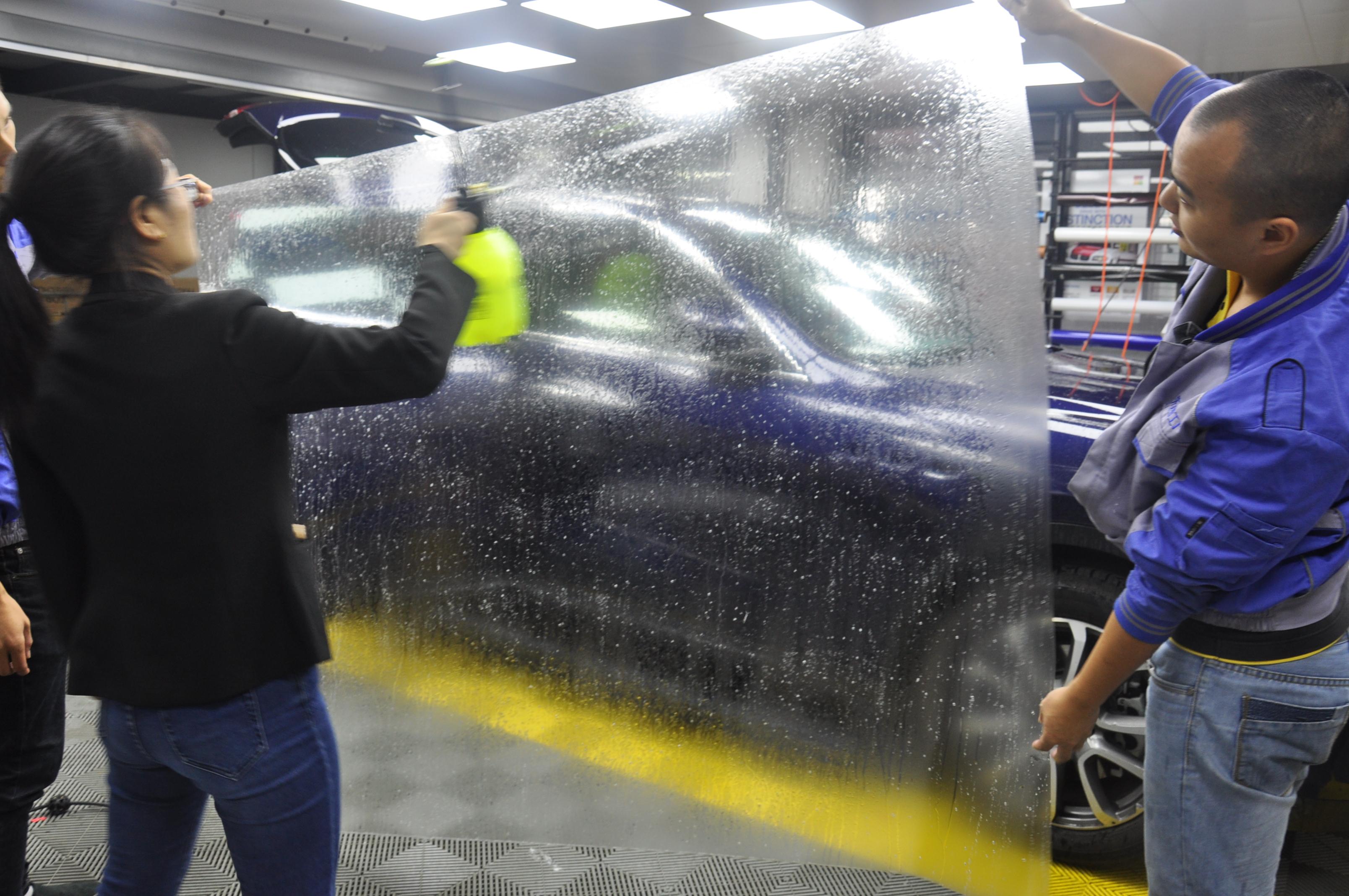 玛莎拉蒂莱万特贴XPEL隐形车漆保护膜