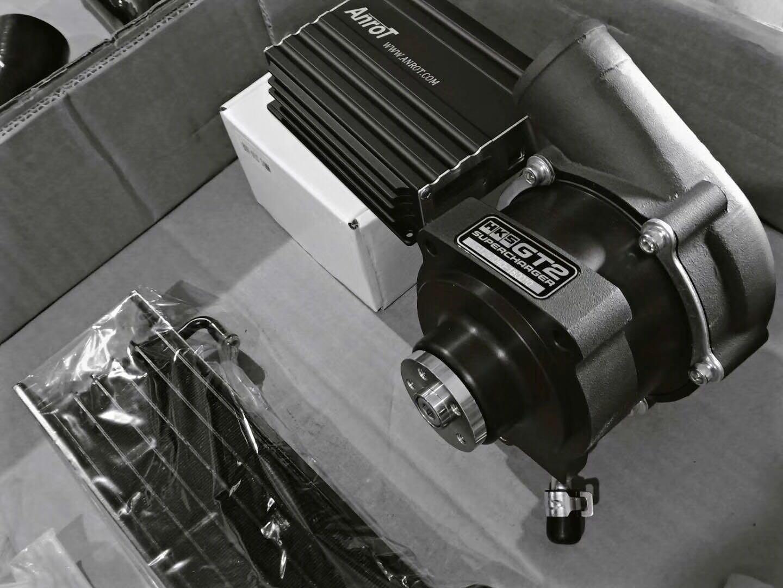 中国首台途乐改装HKS机械增压套件
