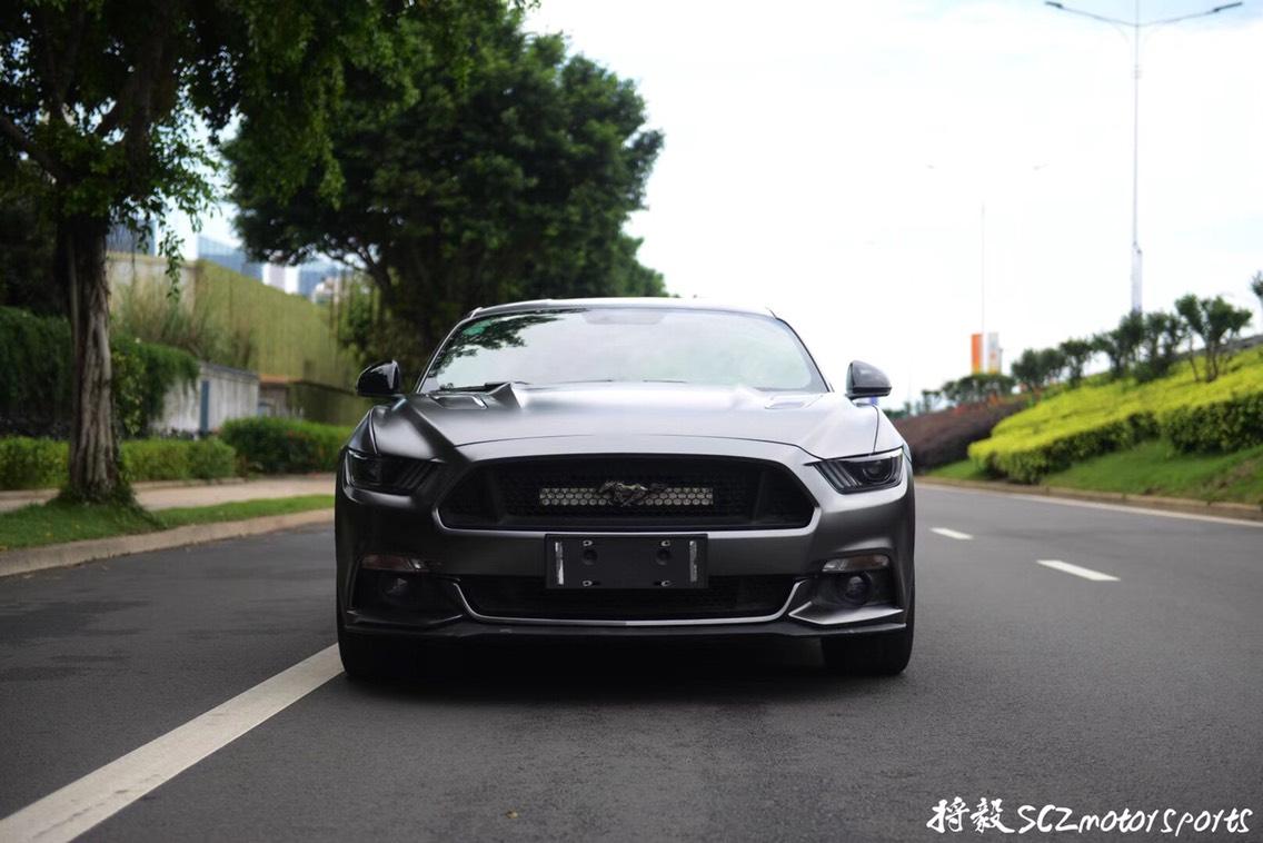 Mustang 5.0 GT  改色贴膜 电光灰