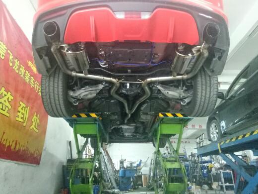 野马改装飞龙阀门排气