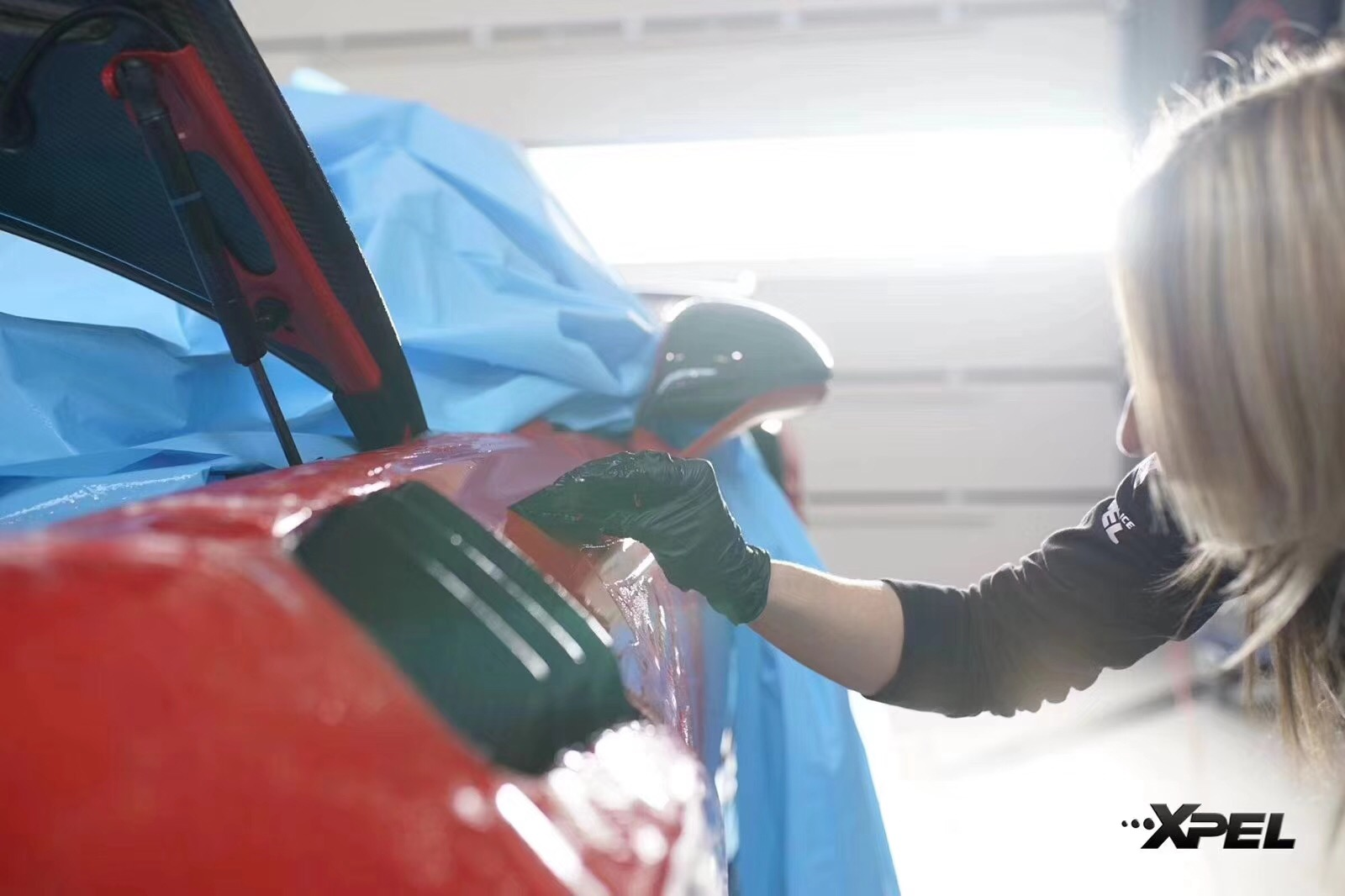 石家庄保时捷911 GT2贴XPEL隐形车衣