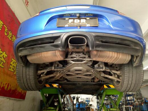 保时捷Boxster改装飞龙阀门排气系统