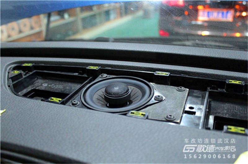 武汉大众途锐汽车音响改装案例实拍