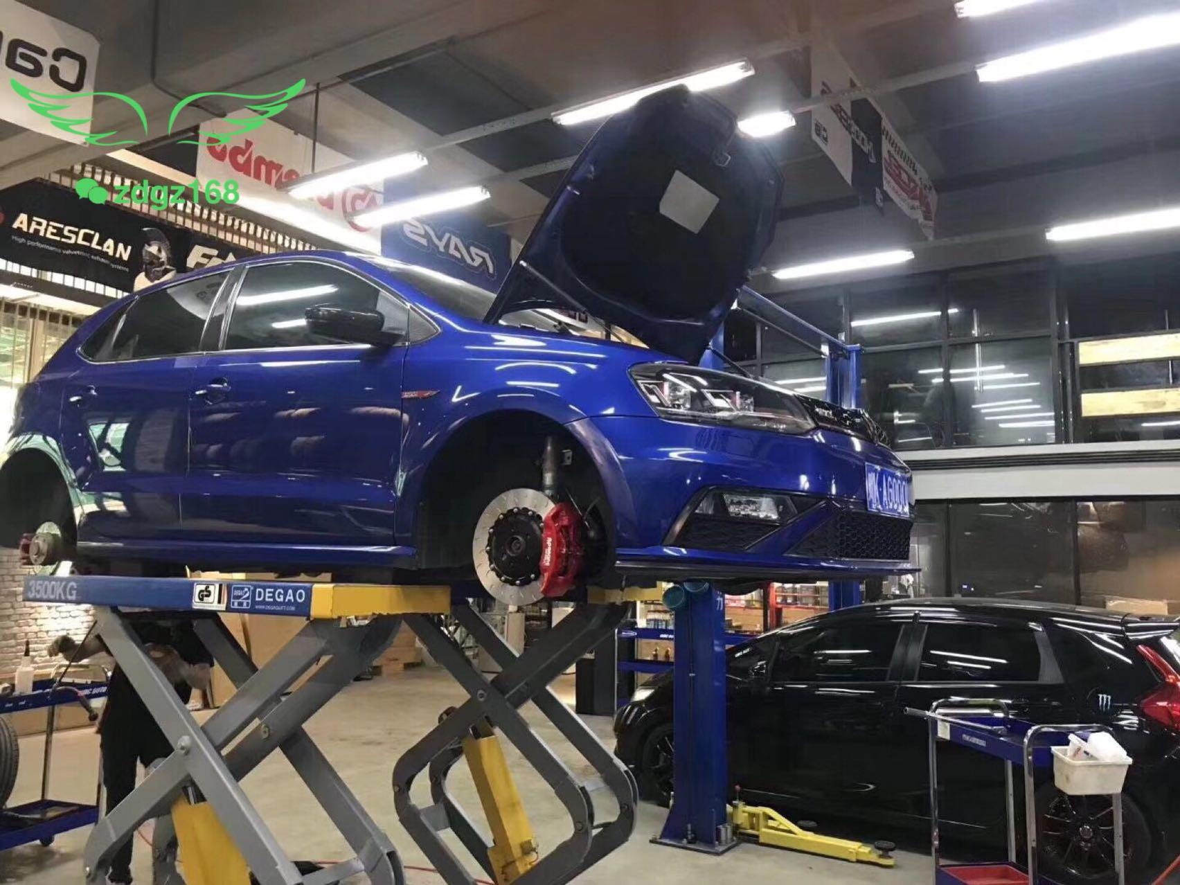 大众POLO刹车改装Ap9440大四刹车卡钳