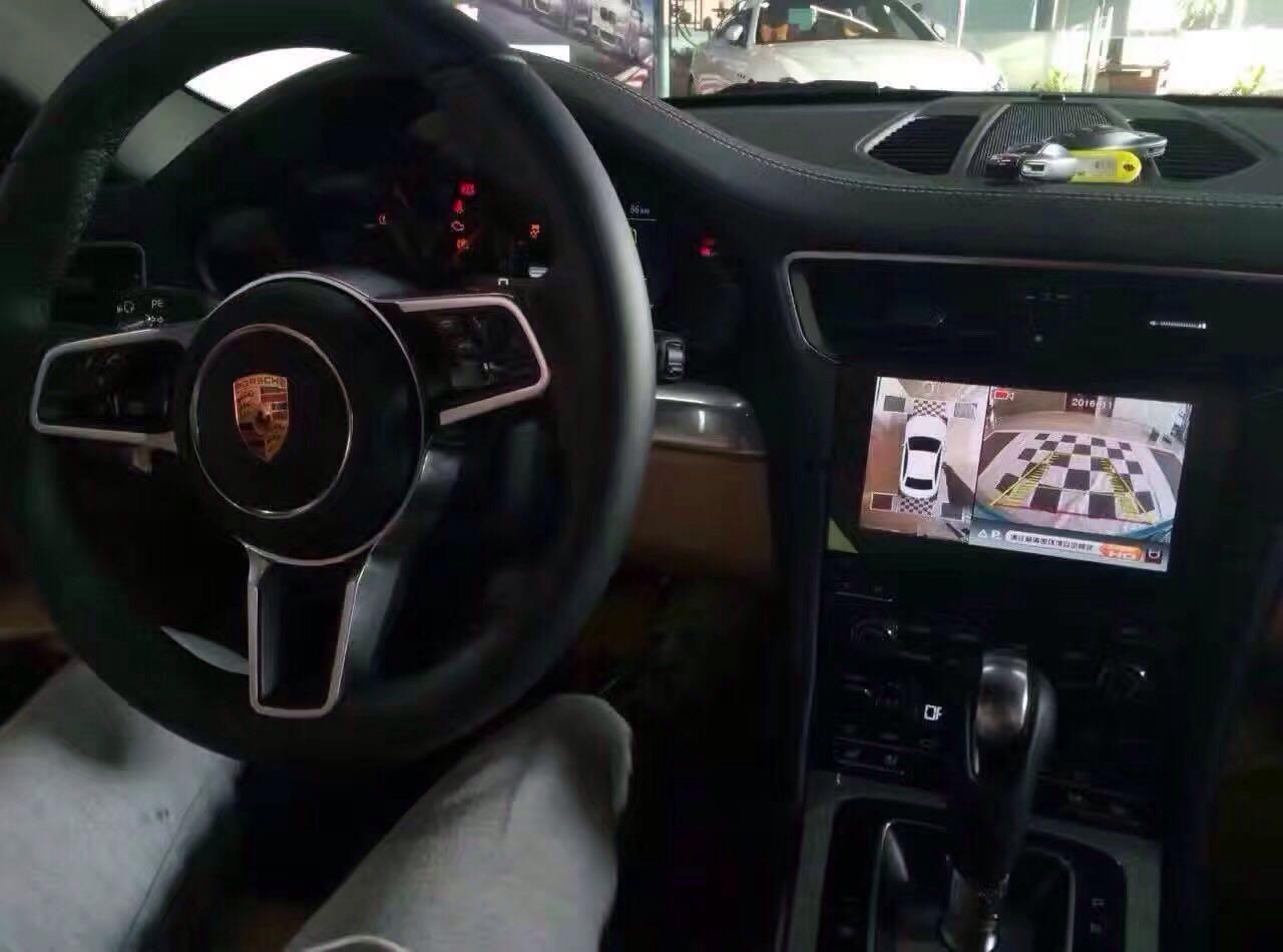 保时捷911改装高清360度全景记录仪