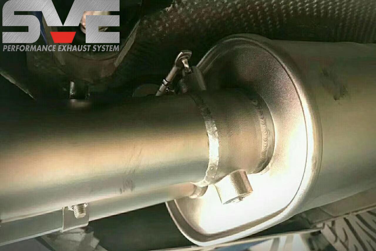 奥迪A7改装SVE中尾段可变阀门排气