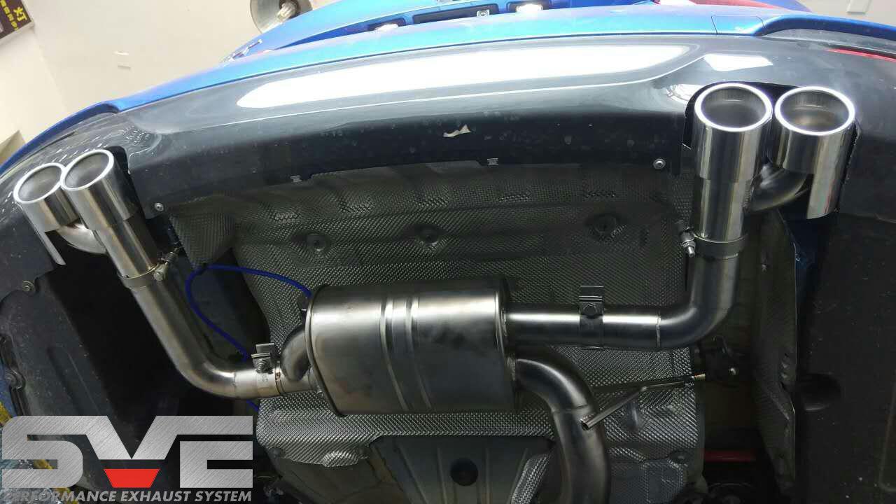 宝马3系GT改装SVE中尾段可变阀门排气