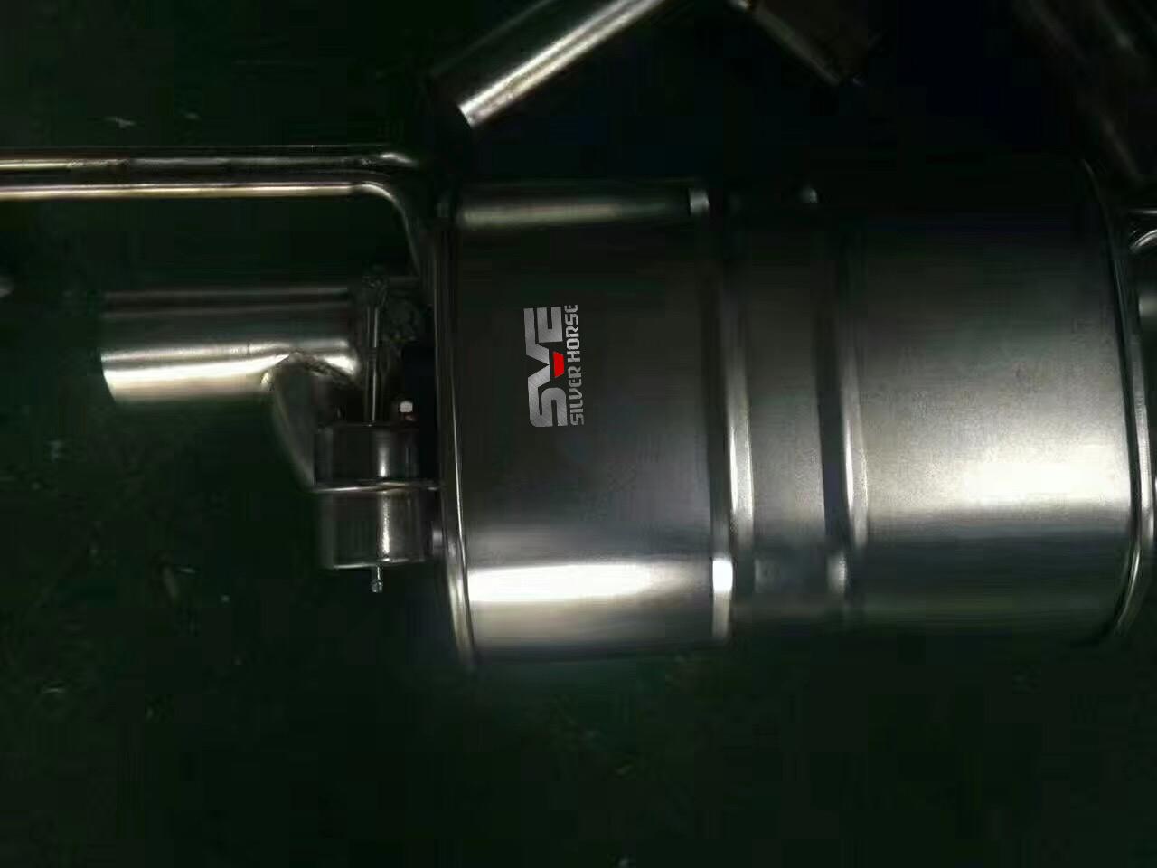 宝马316li改装中尾段四出可变阀门排气