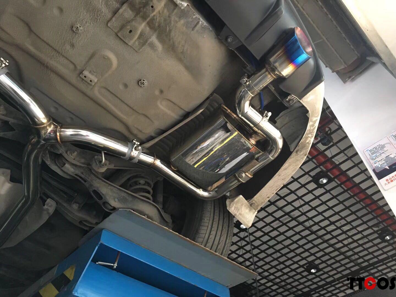 十代思域改装TTCOS排气系统