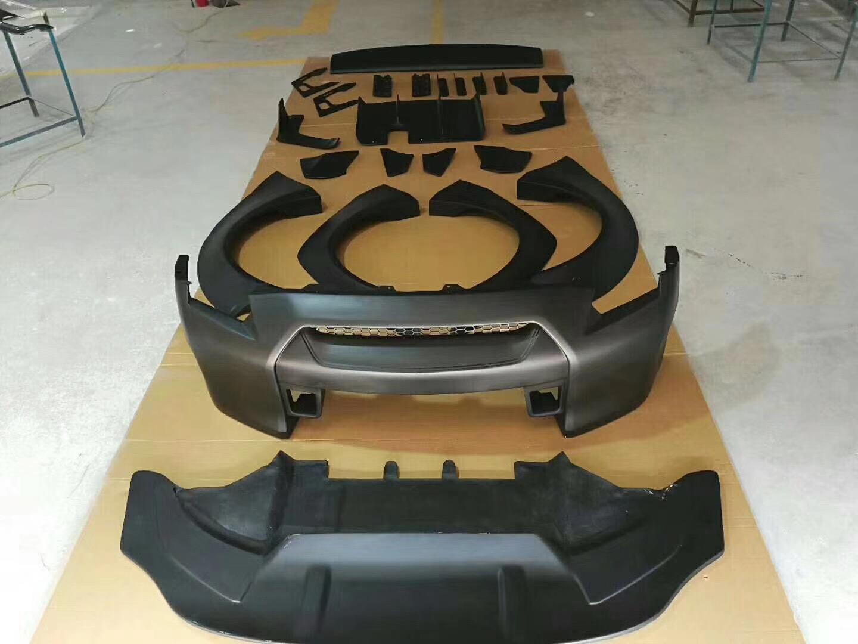 日产GT-R改装LB宽体大包围V:Joca888