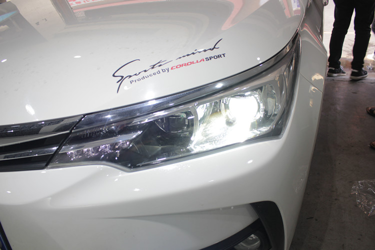 卡罗拉车灯改装阿帕2A套装专用套件