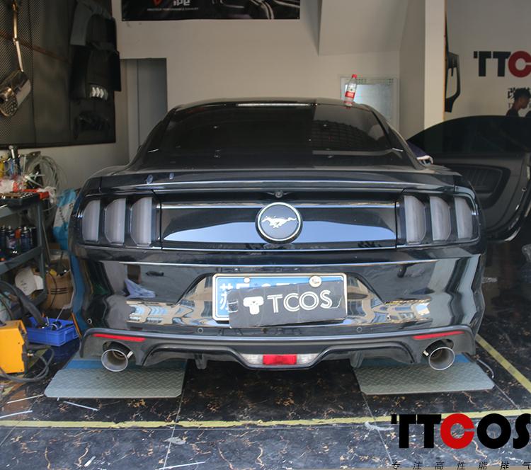 野马Mustang升级TTCOS中尾段阀门排气