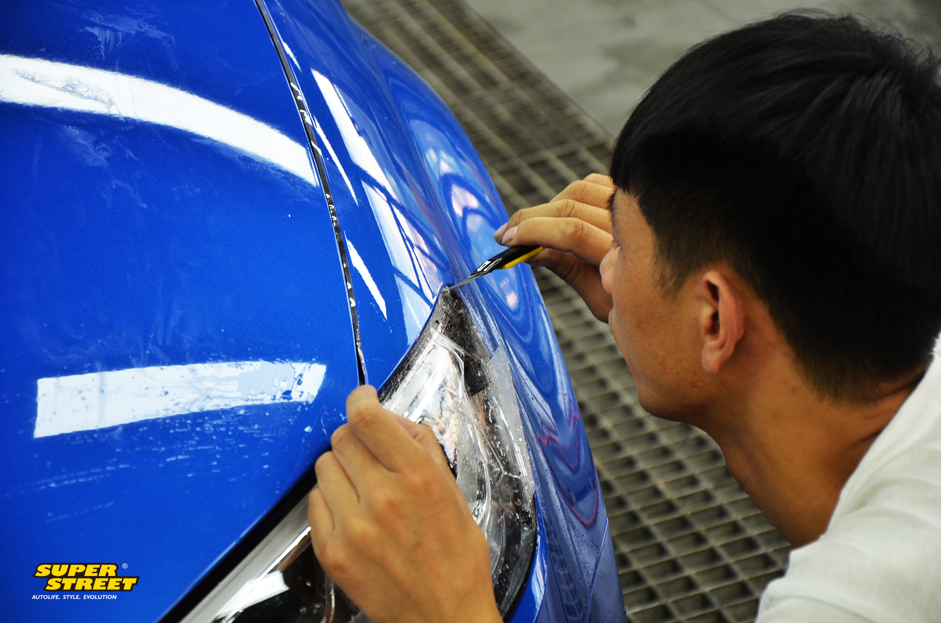 奥迪S3贴固驰透明车衣 车漆保护膜