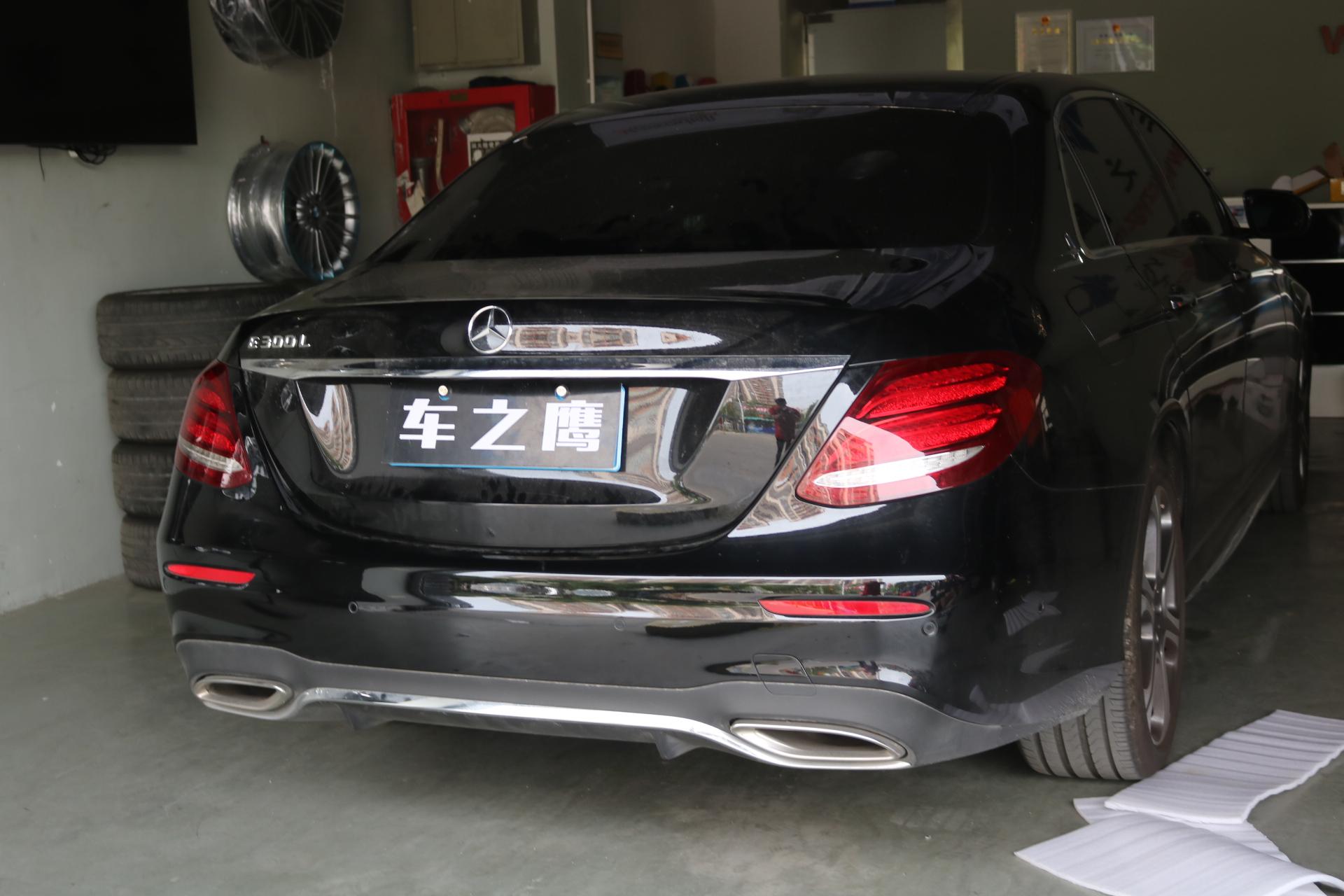 17款奔驰E200加装原厂电动尾门W213