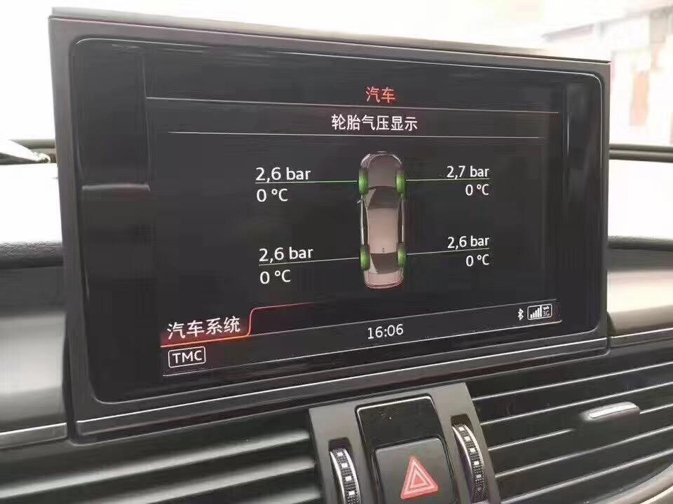深圳改装奥迪A5二代胎压监测