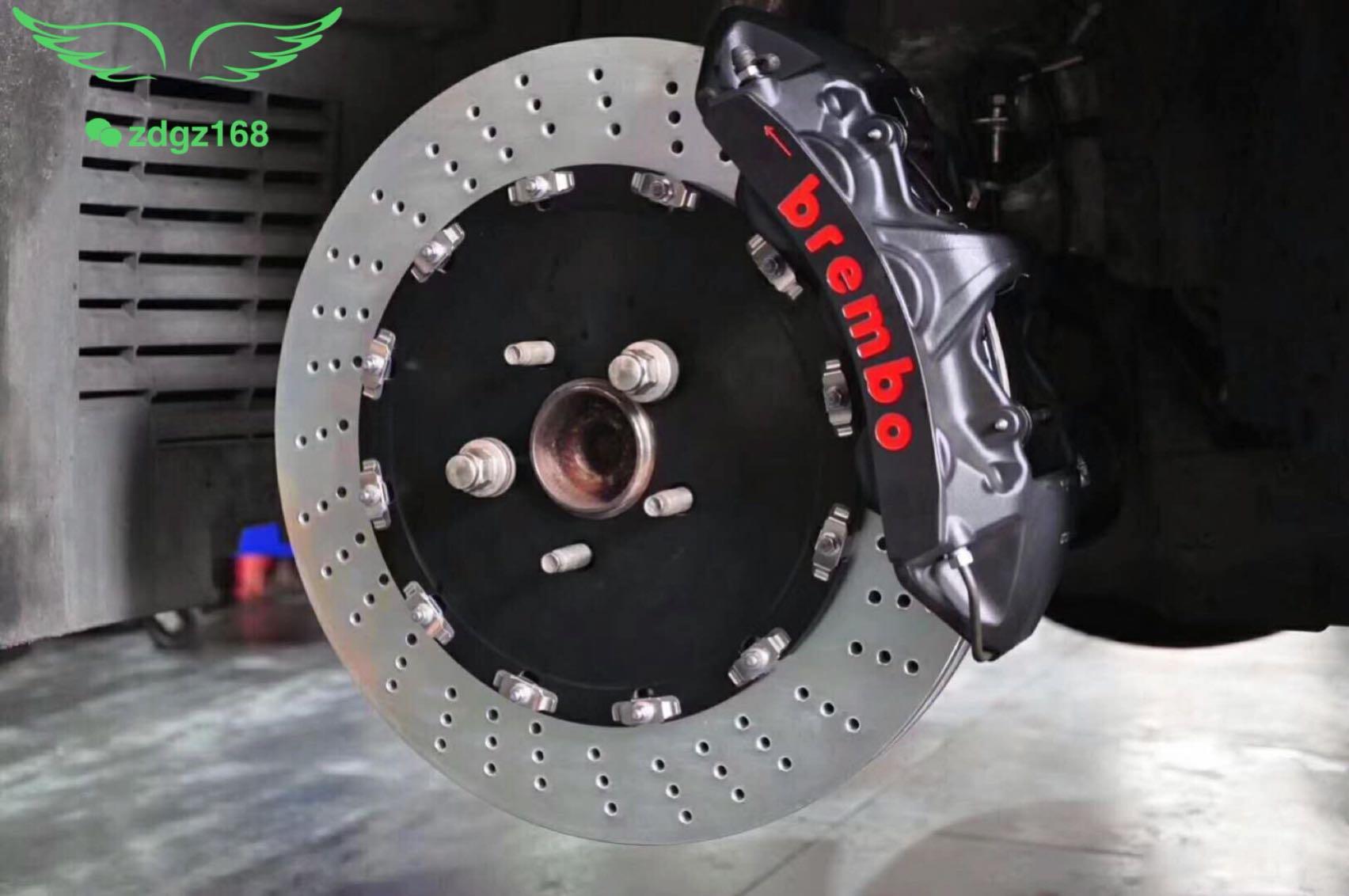 捷豹XF 20寸刹车改装升级Brembo GTS前六后四(后轮定制双卡钳)霸气侧漏[机智]
