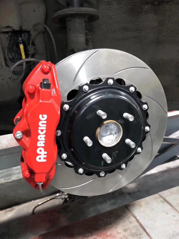 丰田86轿跑刹车改装升级APracing9200大四活塞刹车卡钳改装案例图