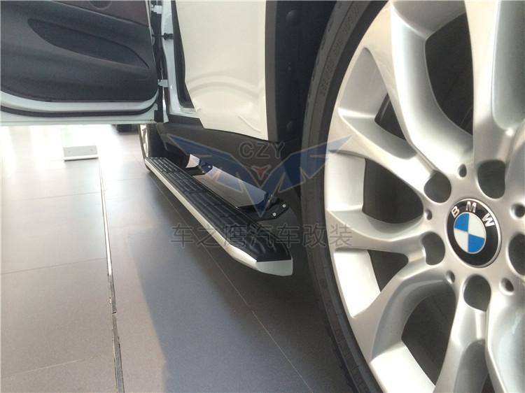 深圳改装宝马X5电动踏板优雅上豪车