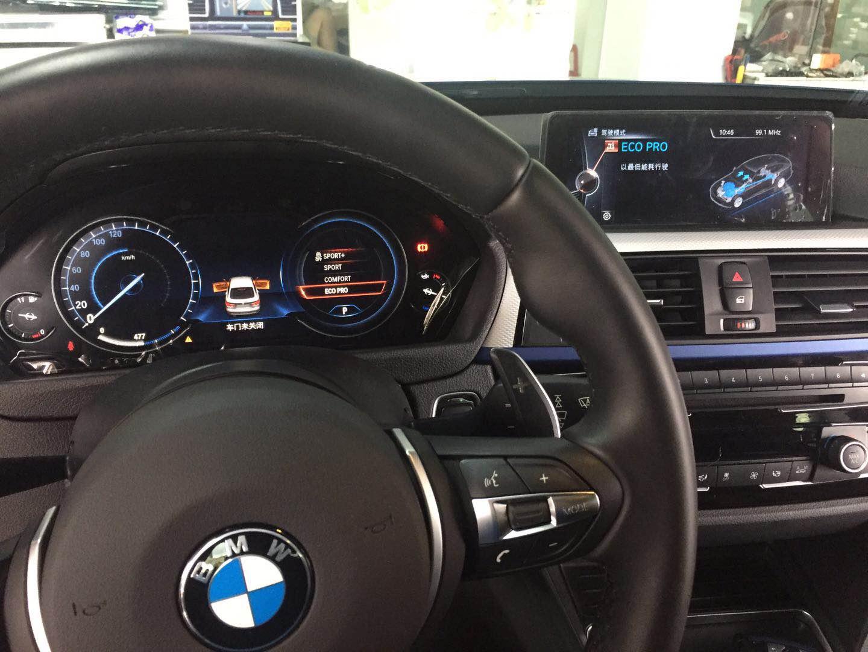 宝马3系GT改装氛围灯 液晶仪表