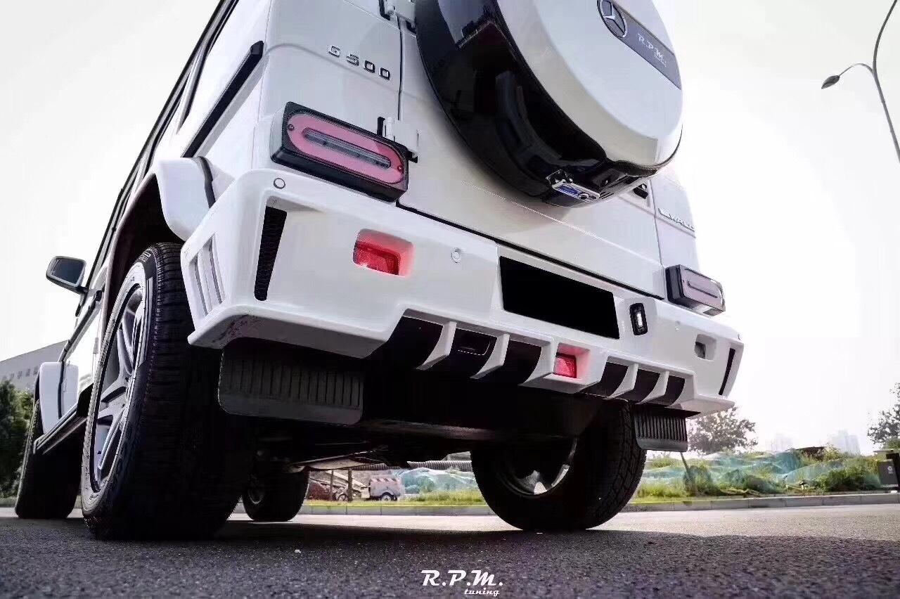 奔驰G级改装WALD包围套件