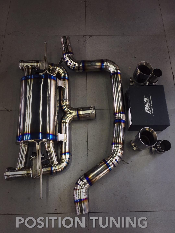 奥迪TT换装RES中尾钛合金阀门排气