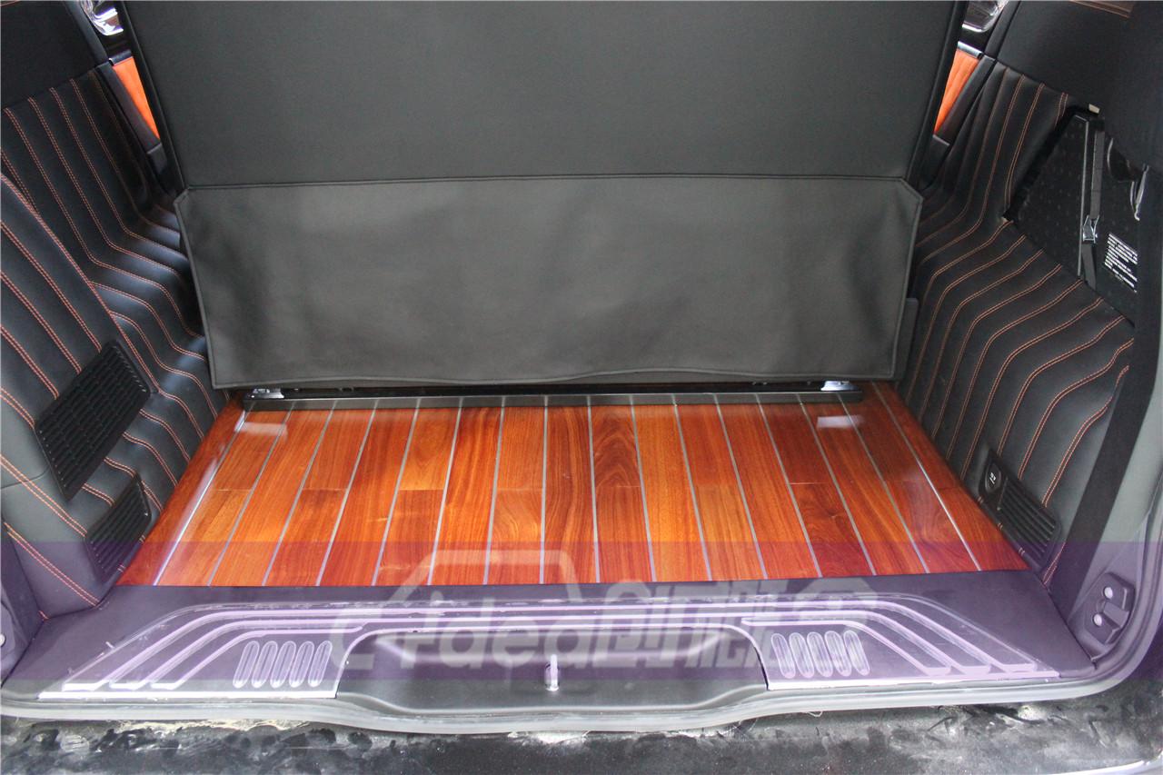 奔驰V260全车内饰改装升级 定制个性顶灯