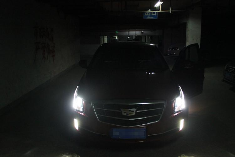 凯迪拉克ATSL车灯改装专车专用日行灯