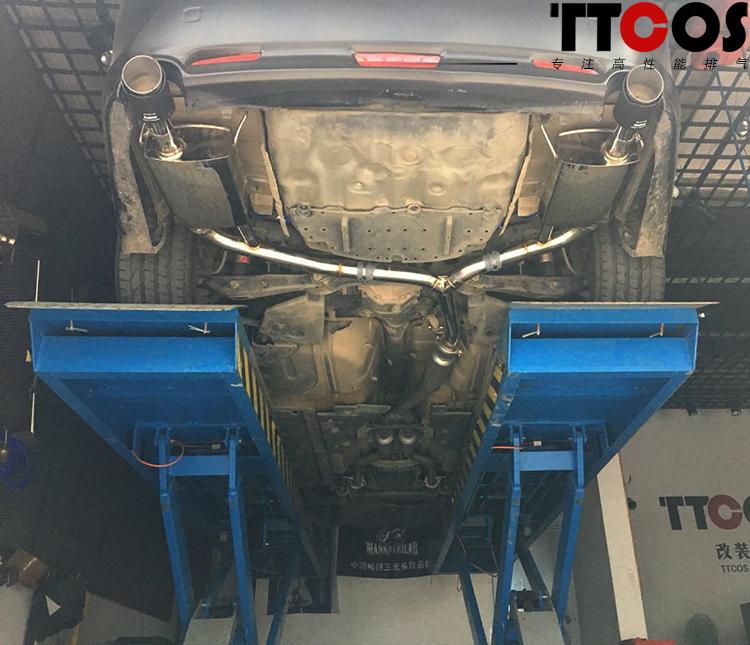 锐志改装TTCOS中尾段阀门排气