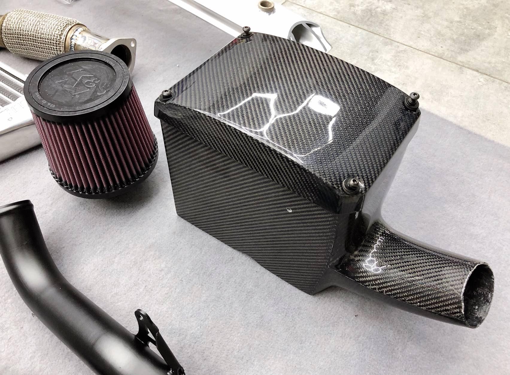 本田飞度(GK5)改装博格华纳涡轮增压套件