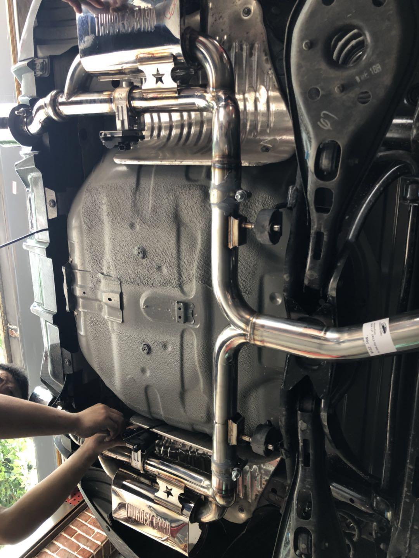 十代思域升级阀门排气管 刹车系统