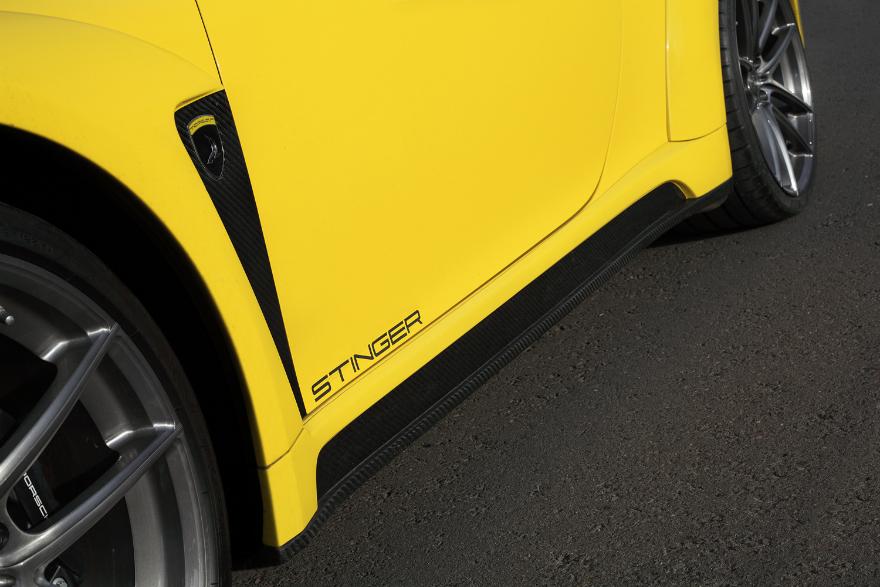 保时捷911改TOPCAR宽体包围外观升级