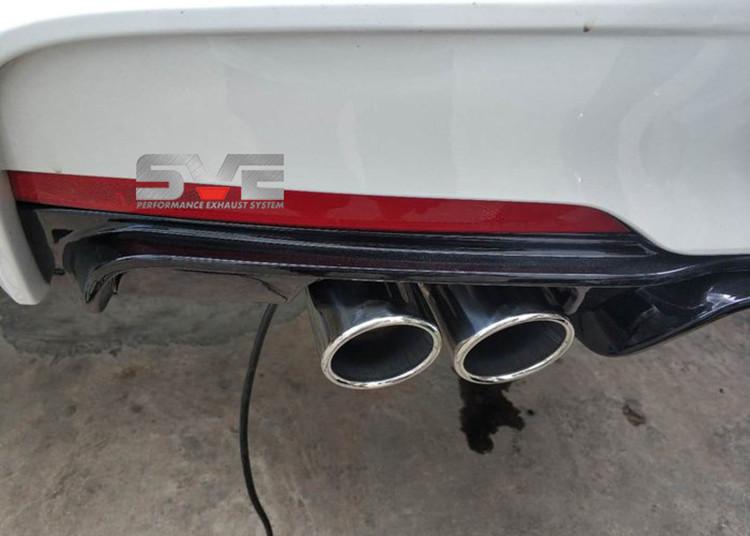 18款宝马3系改装SVE中尾段阀门排气系统