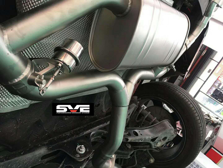 广州新款名爵6改装SVE中尾段阀门排气