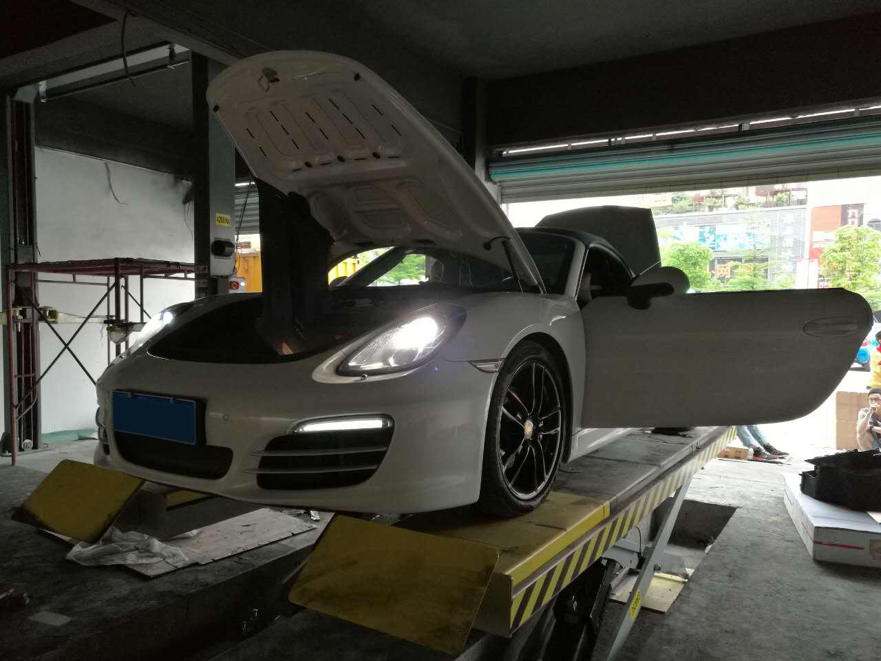 深圳改装保时捷918改装CGW双出阀门排气