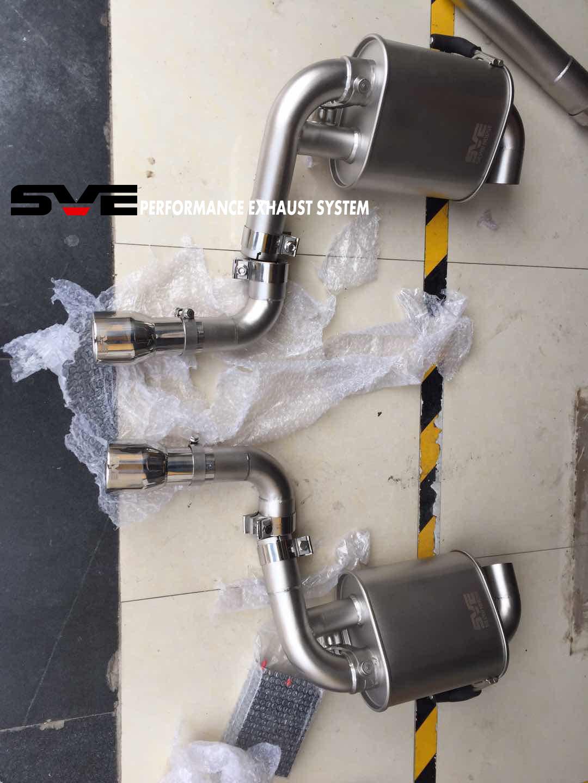 十代思域改装SVE中尾段阀门排气系统