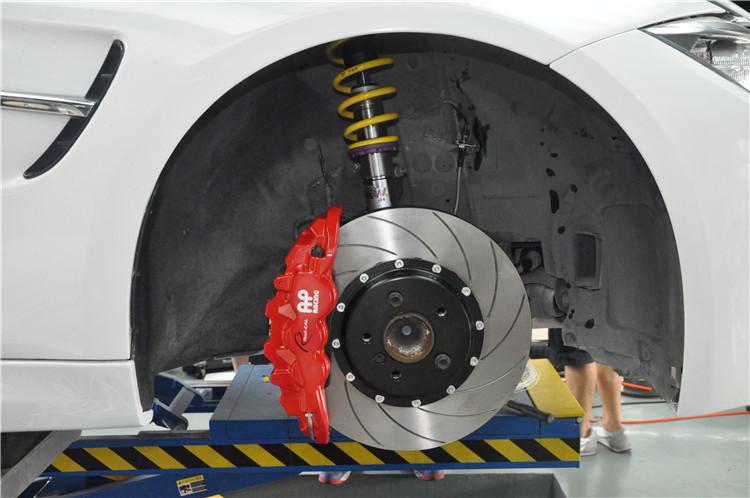 英国AP刹车代理宝马3系升级AP85系列刹车