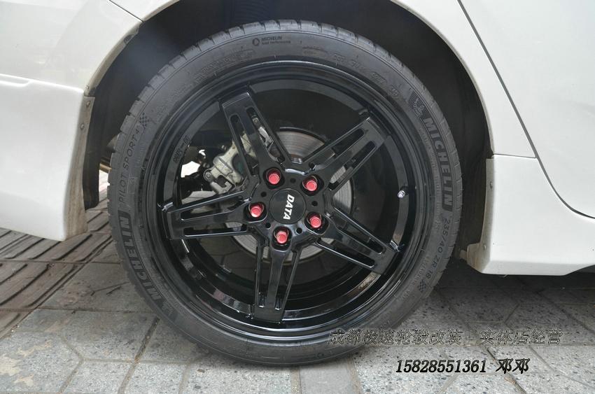 本田思域定制18寸锻造轮毂 私人定制