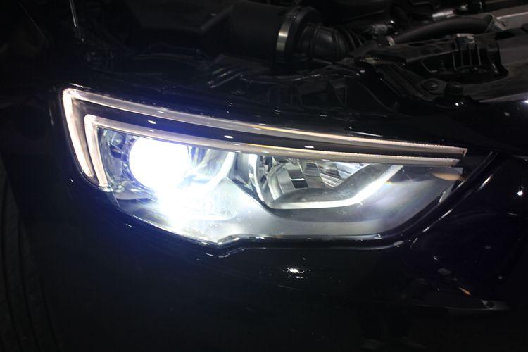 新款君威车灯改装海拉5透镜LED恶魔眼