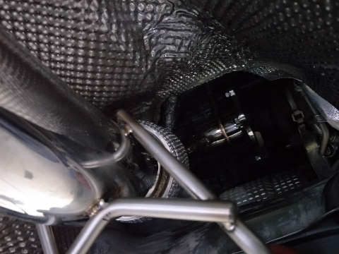 大众CC2.0T升级CENDE双边四出电子阀门,完美装车!